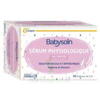 Babysoin Solution Sérum Physiologique 30 Unidoses/5ml à VIC-FEZENSAC