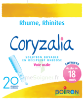 Boiron Coryzalia Solution Buvable Unidose B/20 à VIC-FEZENSAC