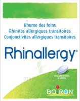 Boiron Rhinallergy Comprimés B/40 à VIC-FEZENSAC