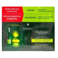 René Furterer Triphasic Progressive Sérum Antichute Coffret 8 Flacons X 5,5ml + Shampoing Stimulant 100 Ml à VIC-FEZENSAC