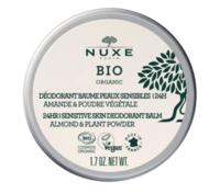 Nuxe Bio Déodorant Baume Fraîcheur 24h Peaux Sensibles Pot/50g à VIC-FEZENSAC