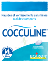 Boiron Cocculine Comprimés Orodispersibles B/40 à VIC-FEZENSAC